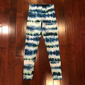 Flywheel Sports Printed Yoga Gym Pants Leggings
